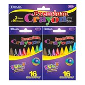 16 Premium Quality Crayon (Set of 2)
