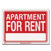 Apartment For Rent Sign (Set of 24)
