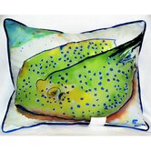 Coastal Stingray Indoor / Outdoor Pillow