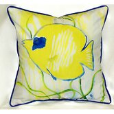 Coastal Yellow Tang Indoor / Outdoor Pillow