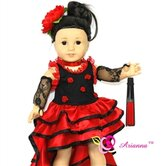 Nina Flamenco Doll Outfit