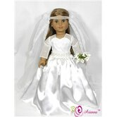 Royal Bride Wedding Doll Dress
