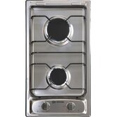 12&quot; Gas 2 Burner Cooktop