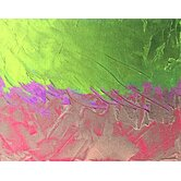 Lime Strokes Wall Art