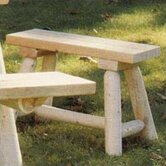 24'' Wood Picnic Bench
