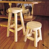 Rustic Natural Cedar Furniture Bar Stools