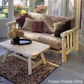Log Futon Frame