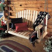 Rustic Natural Cedar Furniture Porch Swings