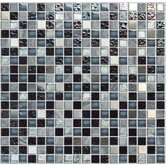 "Crystone CS005 12"" x 12"" Stone and Glass Mosaic"