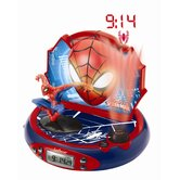 Spider-Man Projector Radio Alarm Clock