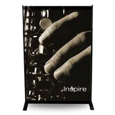 24&quot; - 48&quot; Width Adjustable Powerframe Banner Display Stand