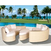 Long Beach Lounge Seating Group with Cushions