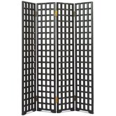 Chinese Classical Carved Lattice Screen
