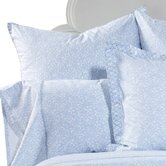 JR by John Robshaw Floret Light Indigo Euro Sham