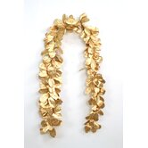 Natural Laurel Leaf Garland (Set of 2)
