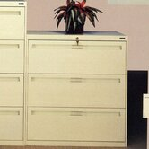 Lateral File With 3 Drawers and Fixed Drawer Fronts