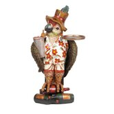 Outdoor D&eacute;cor Large Parrot Waiter with Tray