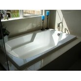 "Designer Solo 54"" W X 30"" D Air Bath Tub with Thermal System"