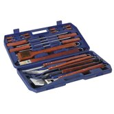 18 Piece BBQ Toolkit with Case