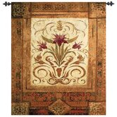 Crimson Blossom Tapestry