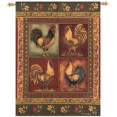 Mediterranean Rooster Tapestry