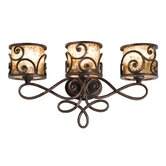 Windsor Nine Light Bath Vanity in Antique Copper