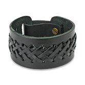 Laced Leather Strap Bracelet