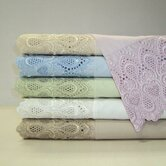 Lace Easy Care 600 Thread Count Sheet Set