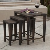 Del Mar 3 Piece Nesting Tables
