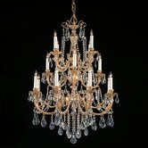 Olde World 16 Light Candle Chandelier