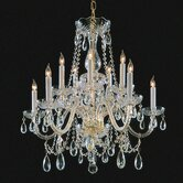 Bohemian 11 Light Candle Chandelier