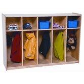 Five Section Tot Locker