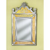 Natasha Venetian Wall Mirror in Gold