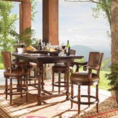 Fieldale Lodge 5 Piece Counter Height Dining Set