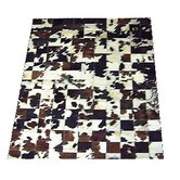 Multi-Colored Haired Cowhide Rug
