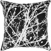 Silk Print Splatter Pillow