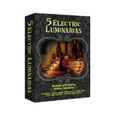 Electric Jack O'Lantern Luminaria Kit
