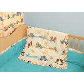Cowboy 4 Piece Crib Bedding Set