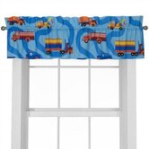 Boys Like Trucks Window Valance