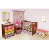 Magic Garden Garden Nursery Bedroom/Bedding Set in Chocolate