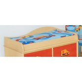 Boys Like Trucks Changing Pad Cover