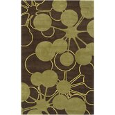Organic Modern Brown Rug