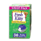 Jumbo Cat Litter Box Liners (30 Pack)