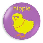 Hippie Chick Plate