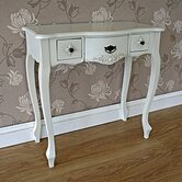 Versaille 3 Drawer Dressing Table