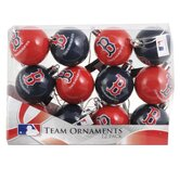 MLB Plastic Ball Ornament (Set of 12)