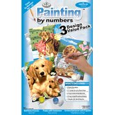 Painting by Numbers Dog Junior Value Set (Set of 3)