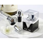 ''Hats Off!'' Top Hat Wine Pourer/Bottle Stopper