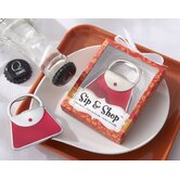 ''Sip & Shop'' Purse Bottle Opener