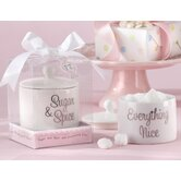 Baby Shower Sugar, Spice and Everything Nice Sugar Bowl with Lid